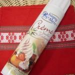 Crème en bombe d'isigny
